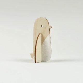 Plywood Dip-Dyed Penguin by Lisa Jones Studio