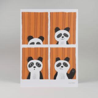 Panda Passport Print