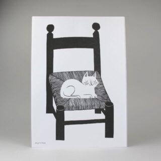 Cat Nap Print