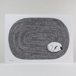 Dog Tired Print