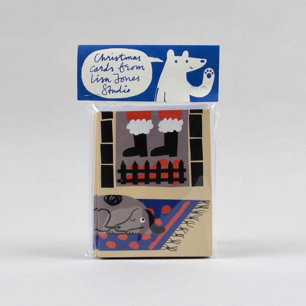 Lisa Jones Christmas Card - Pack of 10 - Design 1