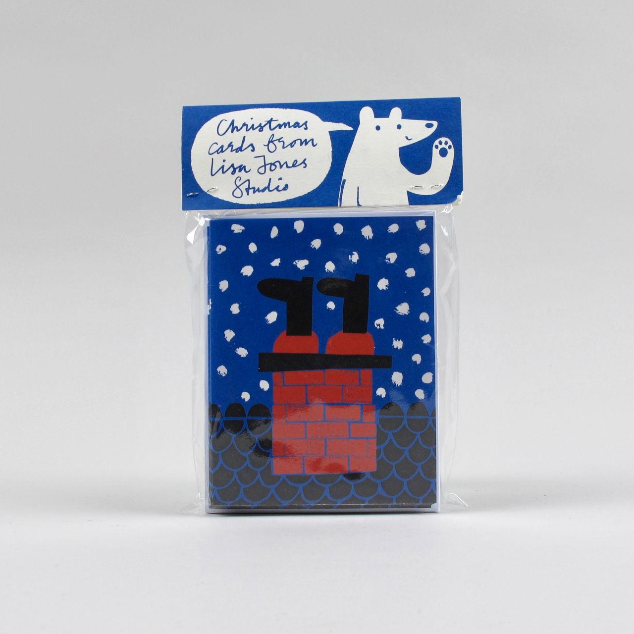 Lisa Jones Christmas Card - Pack of 10 - Design 4