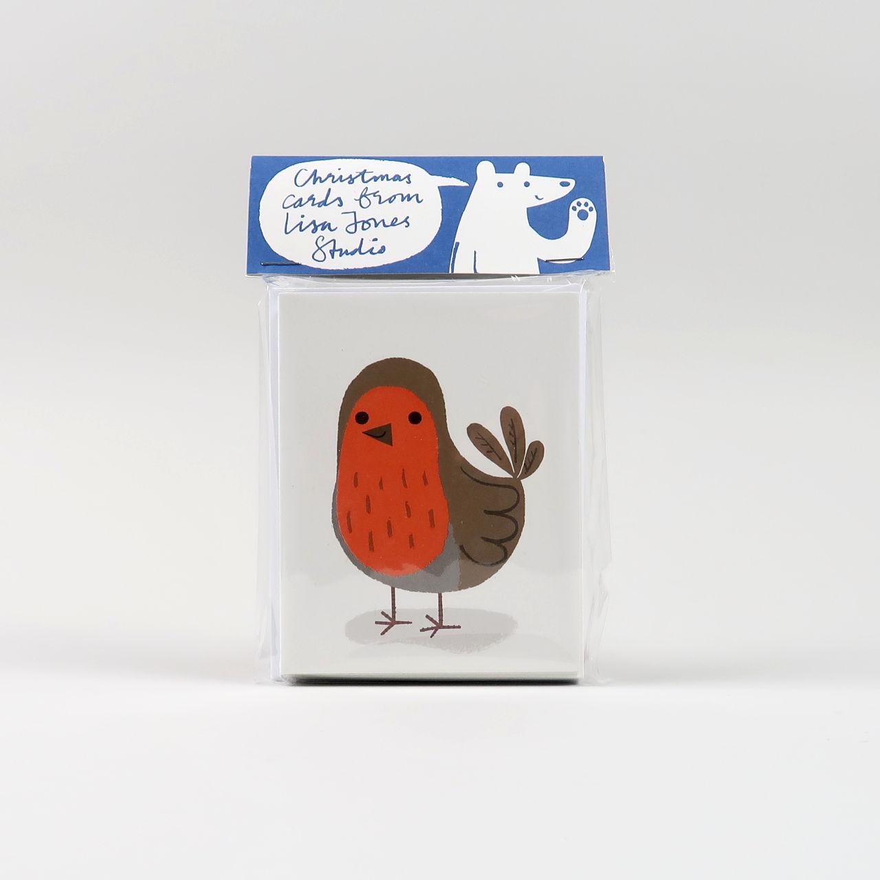 Lisa Jones Christmas Card - Pack of 10 - Design 5