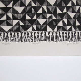 Couscous Screen Print by Lisa Jones