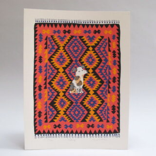 Nutmeg Screen Print by Lisa Jones