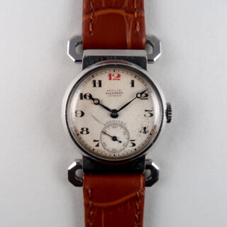 Longines Ref. 3806 retailed by Arthur Saunders, London invoiced 1938