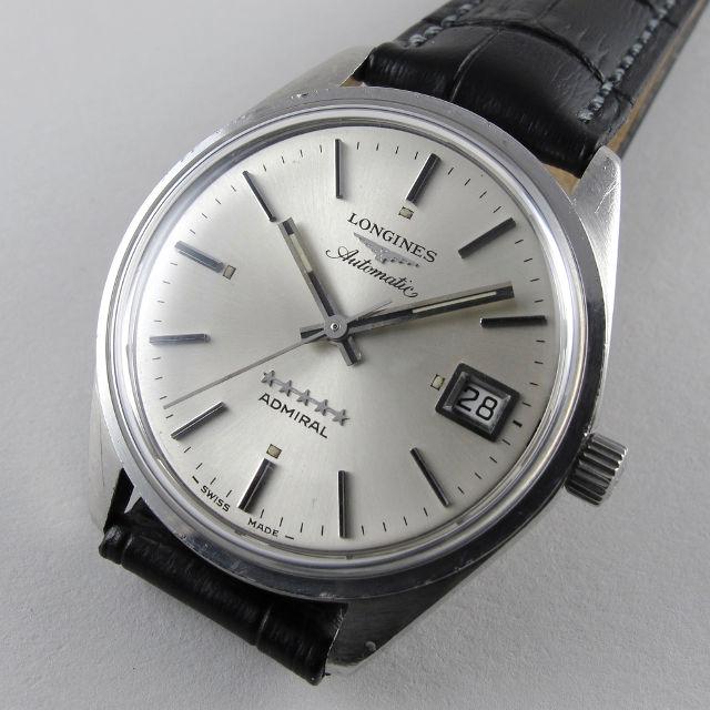Steel Longines Admiral 5 Star Ref. 8336 -6 vintage wristwatch 1c37b7588c1