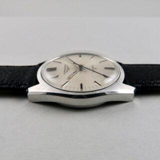 Longines Admiral HF Ref. 2301 -1 steel vintage wristwatch, circa 1973