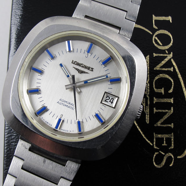 Longines Admiral Ref. 2315-1 steel vintage wristwatch 0111e18af59