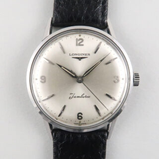 Longines Jamboree Ref. 6884 -10 steel vintage wristwatch, circa 1962
