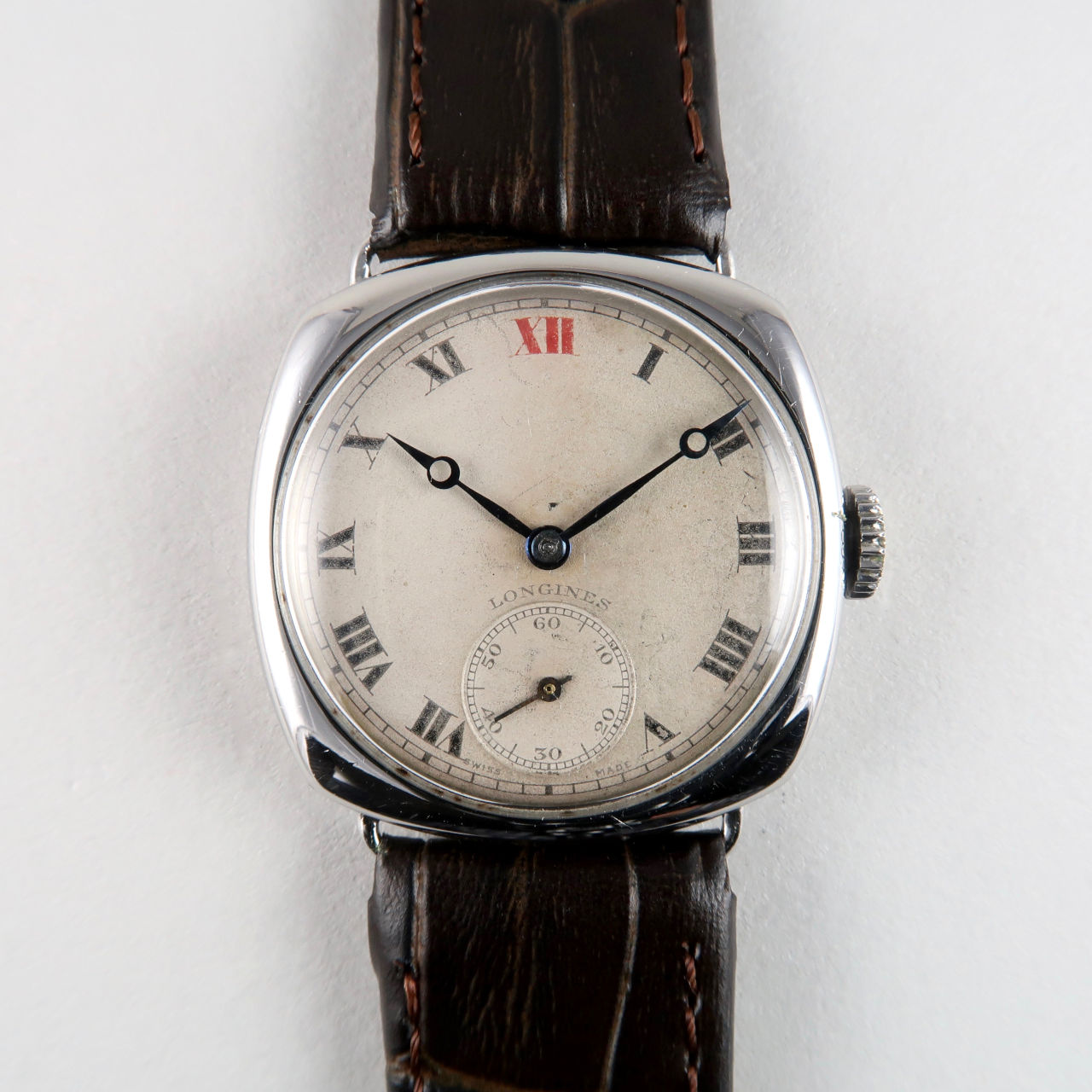 Longines Ref. 3149 invoiced 1938 | steel manual vintage wristwatch