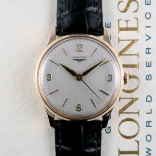Longines Ref. 584 'Full Set' sold December 1963 | 9ct gold vintage wristwatch