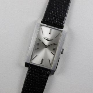 Longines Ref. 7352-1 steel vintage wristwatch, circa 1962