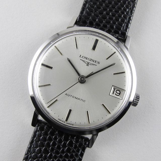 Longines Ref. 7844 -3 steel vintage wristwatch, circa 1967