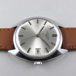 Longines Ref. 7912 -4 steel vintage wristwatch, circa 1968