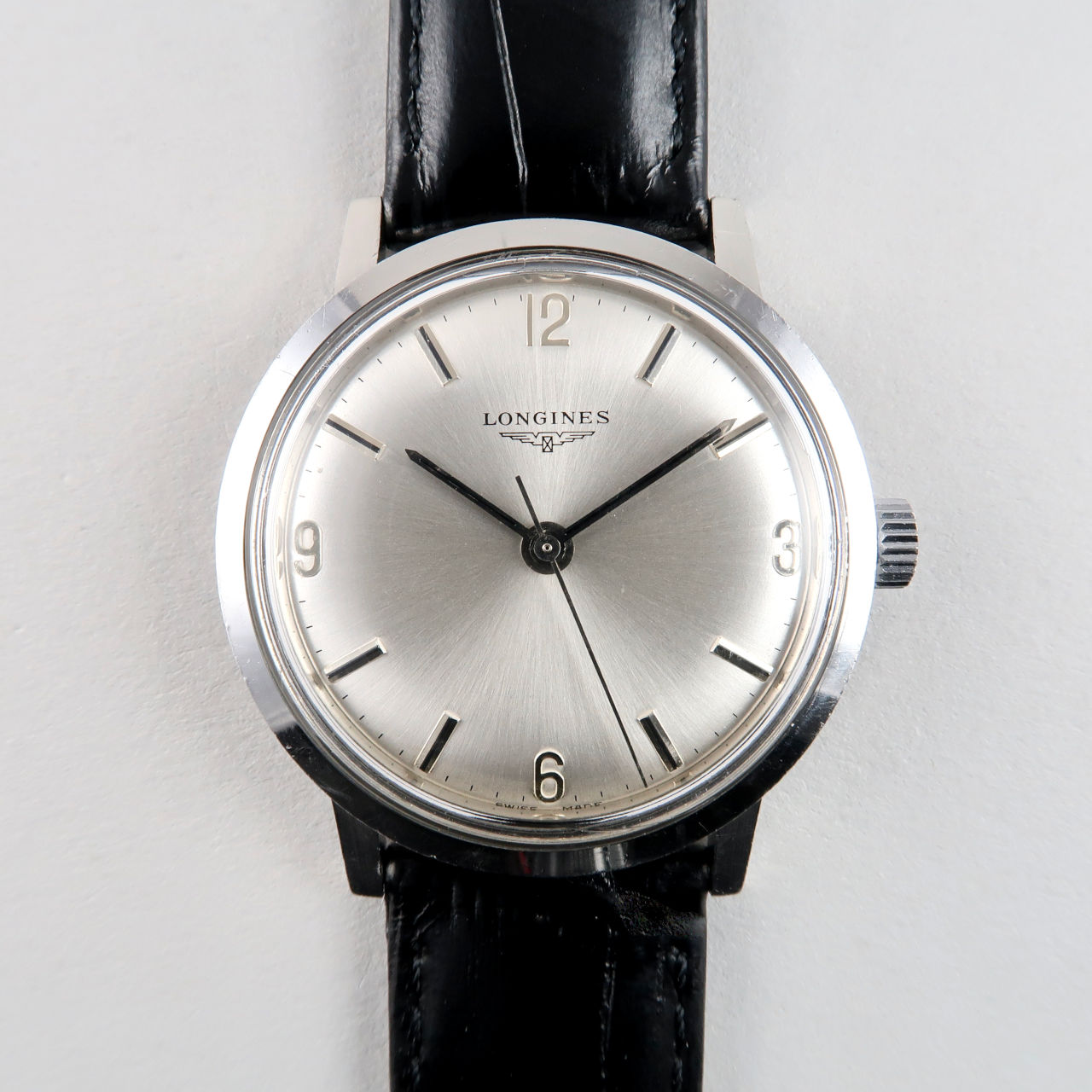 Longines Ref. 8319 circa 1970 | steel manual vintage wristwatch