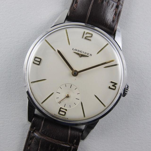 Longines Ref. 8888 /1 steel vintage wristwatch, circa 1962
