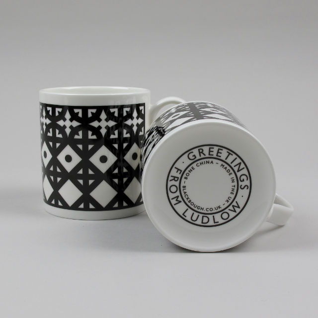 Bone China Mug - Greetings from Ludlow
