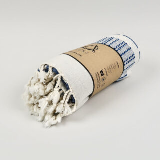 Defne Organic Cotton Peshtemal - Denim