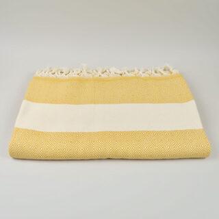 Mustard Damla Blanket