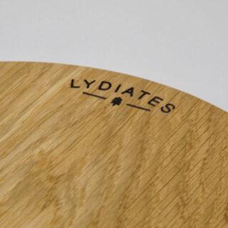 Round Oak Board by Lydiates