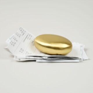 Marjani Brass Paperweight
