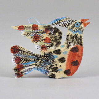 mark hearld flying bird card