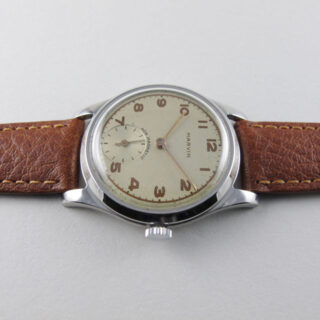 Marvin steel vintage wristwatch, circa 1948