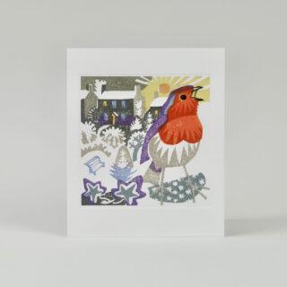 Winter Sunrise Greetings Card by Matt Underwood