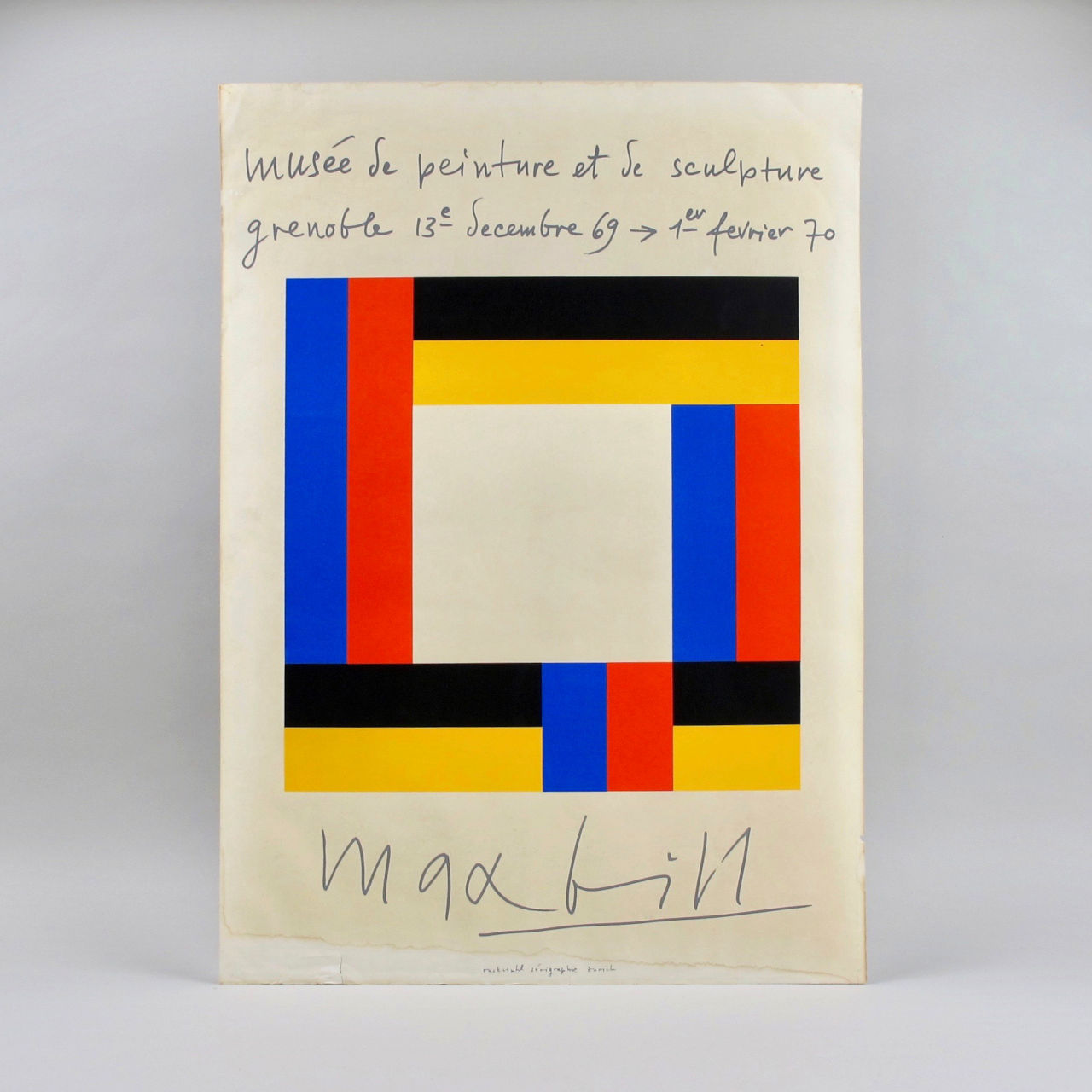 max bill exhibition poster 03