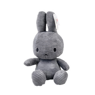 Corduroy Grey Miffy - Large