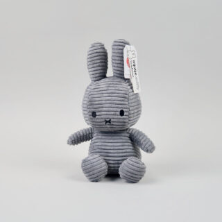 Corduroy Grey Miffy - Medium