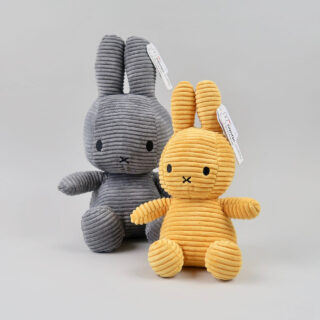 miffy corduroy grey yellow