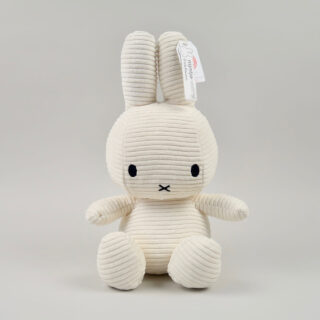 Corduroy White Miffy - Large