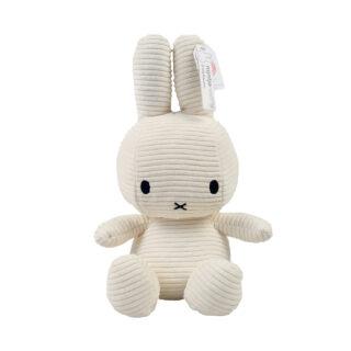 Corduroy White Miffy - Large
