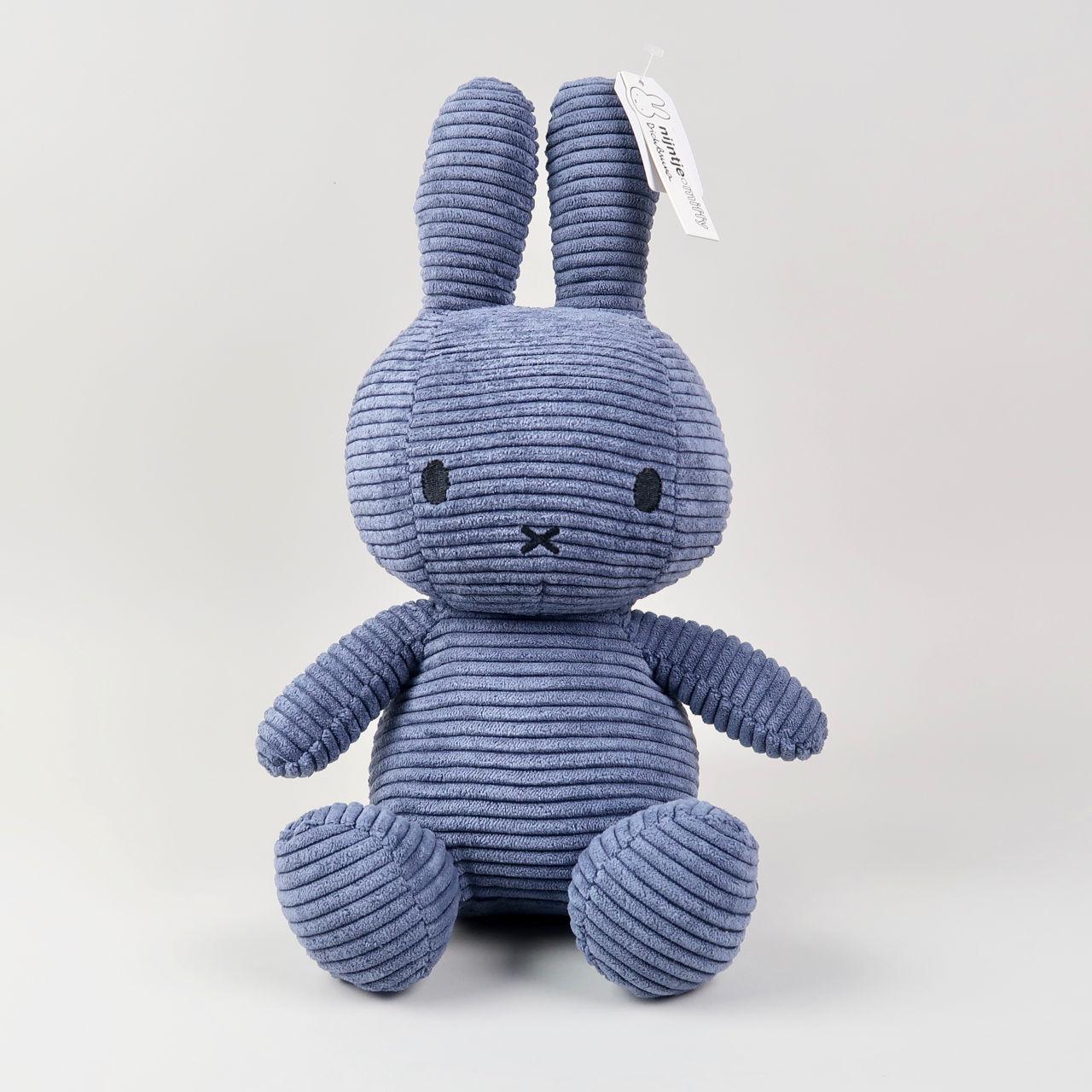 Corduroy Dark Blue Miffy - Large