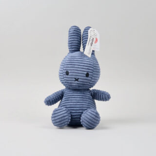 Corduroy Aviator Blue Miffy - Medium