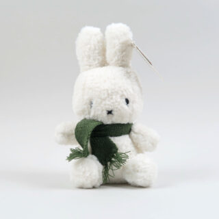 Popcorn Furry Miffy with Green Scarf