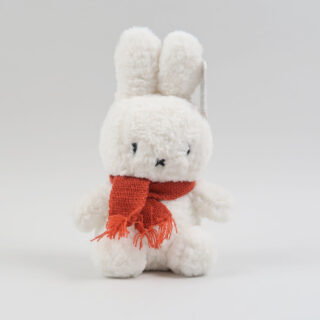 Popcorn Furry Miffy with Red Scarf