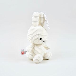 Corduroy White Miffy - Medium
