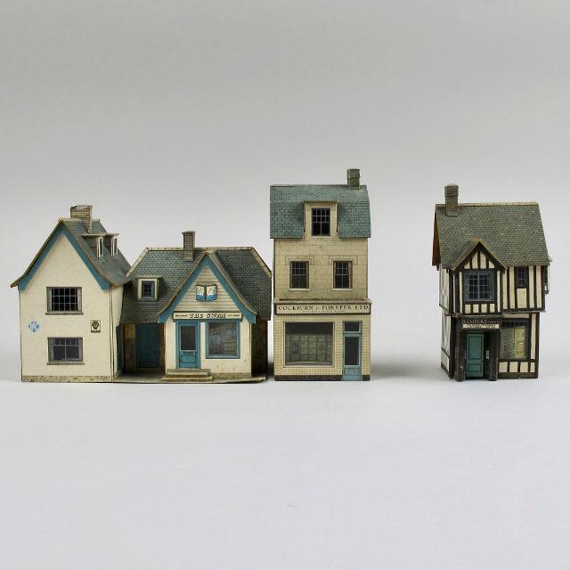 Cardboard Model Railway Buildings