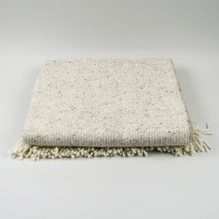 Tweed Emphasize Blanket - Oatmeal