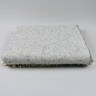 Tweed Emphasize Blanket - Silver Grey