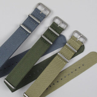 nato-single-colour-nylon-watch-strap-matt-finished-buckle-bbns1-v01