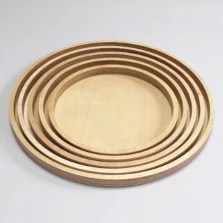 Nesting Handmade Trays Made In West Dorset Cocpt V01