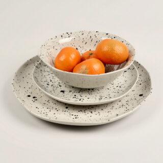 Ama Splatter Dinner Plate