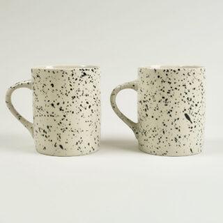 Ama Splatter Mugs - Set of 2 - Tall