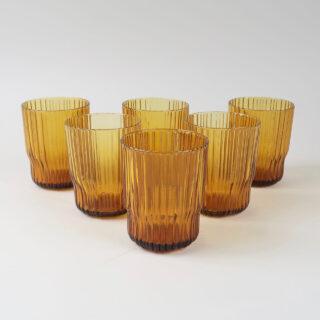 Fali Amber Glass Tumbler