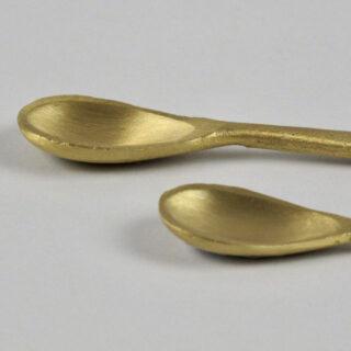 Jahi Gold Flat Spoon - Small