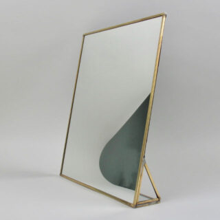 Kiko Standing Brass Mirror - Large